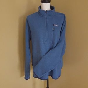 Patagonia better sweater quarter zip jacket